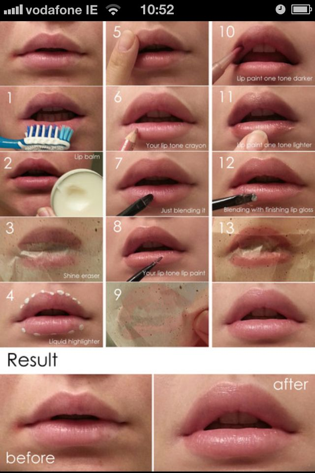 Bigger lips no fillers. All natural. | My beauty room ...