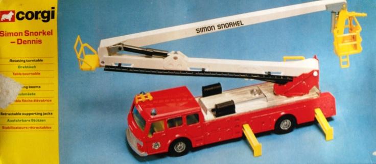 1979 Corgi Simon Snorkel-Dennis