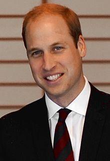 Prince William, Duke of Cambridge, KG, KT, PC, ADC(P) (William Arthur Philip Louis;[fn 1] born 21 June 1982)