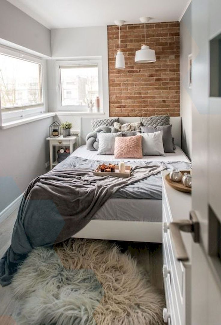 Nice 47 Wonderful Small Apartment Bedroom Design Ideas And Decor