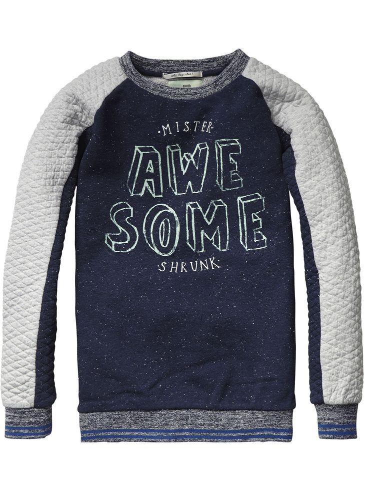 Crew Neck Sweater | Sweat | Boy's Clothing at Scotch & Soda