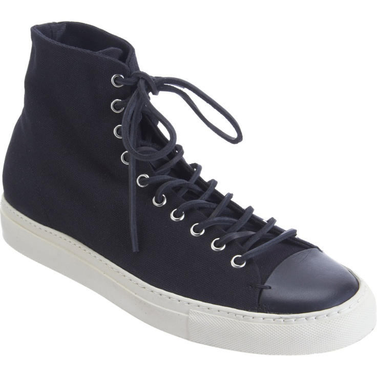 Buttero Cap Toe High Top Sneakers