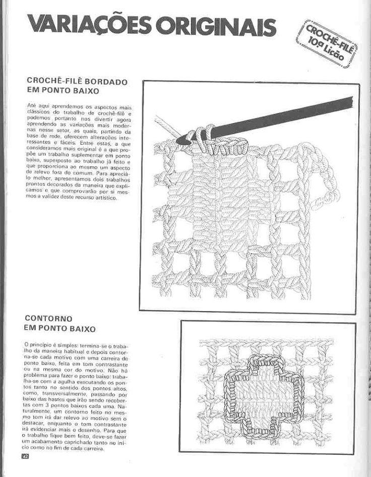 Мобильный LiveInternet Техника филейного вязания, вышивка по филейной сетке,цветное филейное вязание.   TVORYU - Дневник TVORYU  