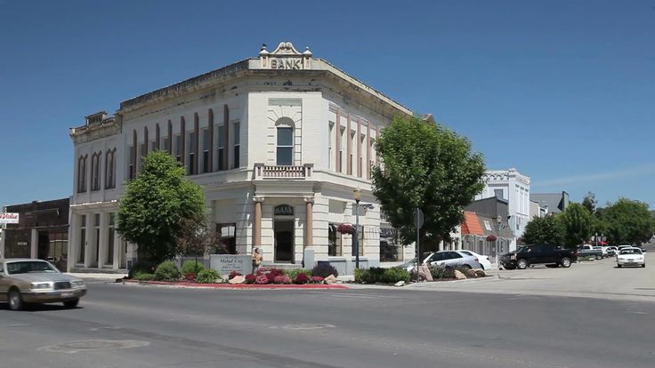 Image result for historic small town bank building