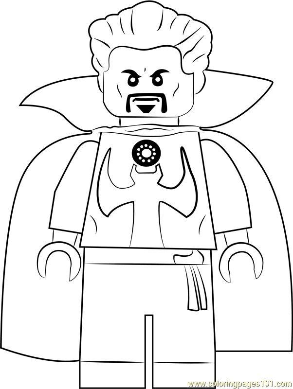 Lego Doctor Strange Coloring Pages Taken