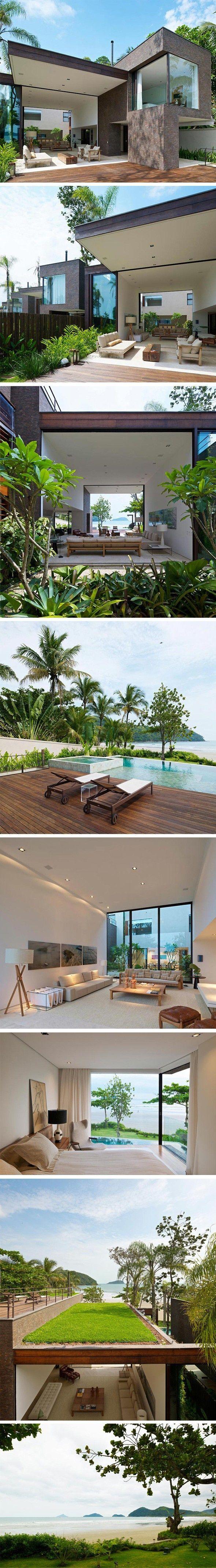 Love views & placement Baleia Residences by Studio Arthur Casas: