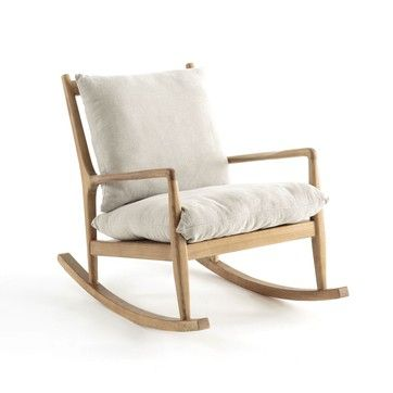 Rocking Chair Lin Dilma Am Pm La Redoute Family Rocking