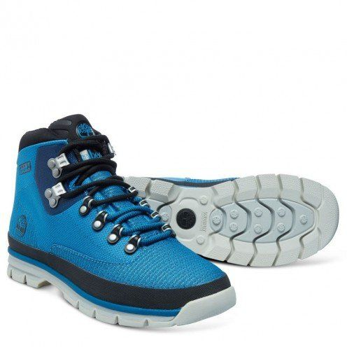 Timberland CA15QO Mens Euro Hiker Jacquard Boots Color Blue Size 85M US -- Click image to review more details.(This is an Amazon affiliate link and I receive a commission for the sales)