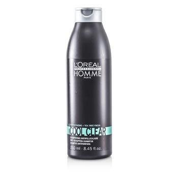 Professionnel Homme Cool Clear Anti-Schuppen Shampoo - 250ml-8.45oz