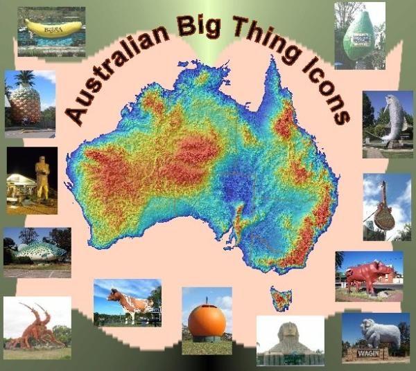 Australian Big Thing Icons • big things Australia tour