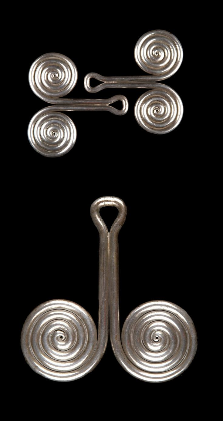Indonesia - Sumatra | Ear ornaments ~ Padung ~ from the Batak Karo people…