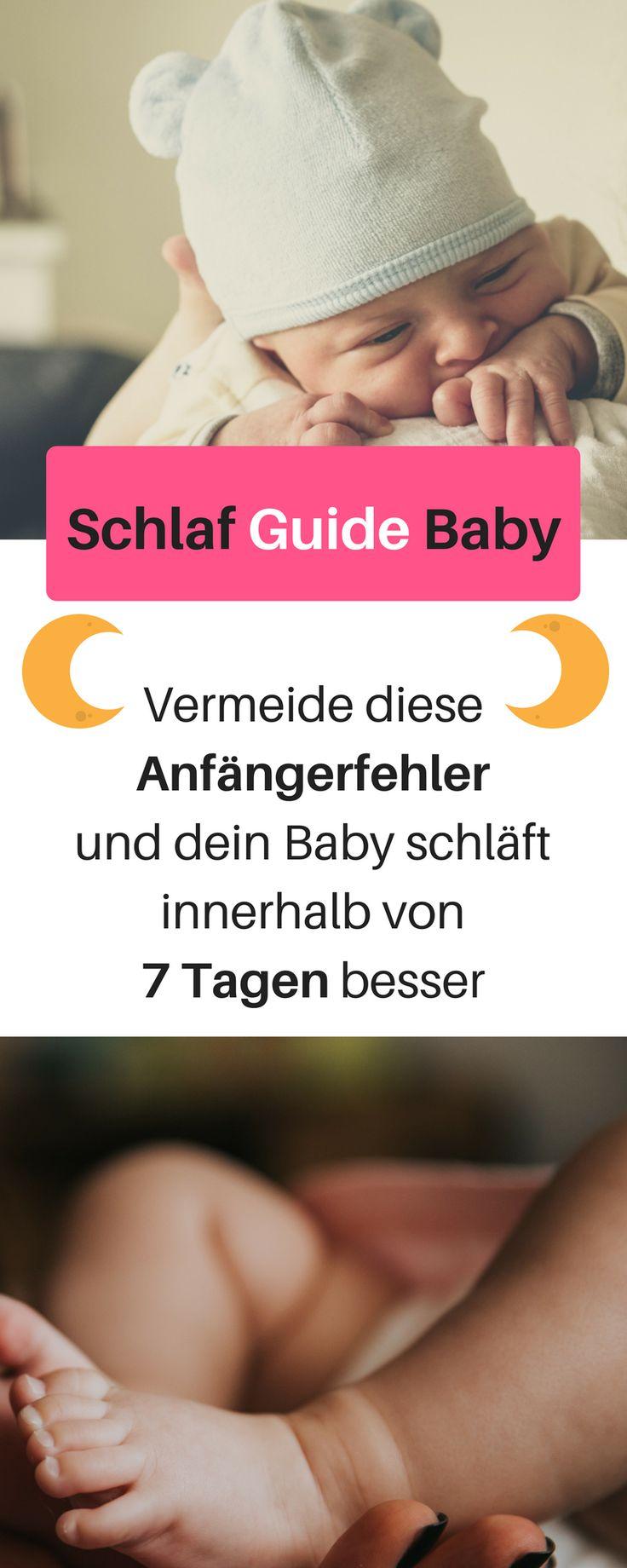 Vermeide diese Anfänger Fehler, damit dein Baby leichter einschläft und besser durchschläft. Innerhalb von 7 Tagen kann der Schlaf deines Babys deutlich besser werden. Baby Schlafprogramm, Baby einschlafen, Baby schlafen, 3 Monats Koliken, Baby schreien lassen, Baby weint, Einschlafritual Baby #baby einschlaftrick taschentuch