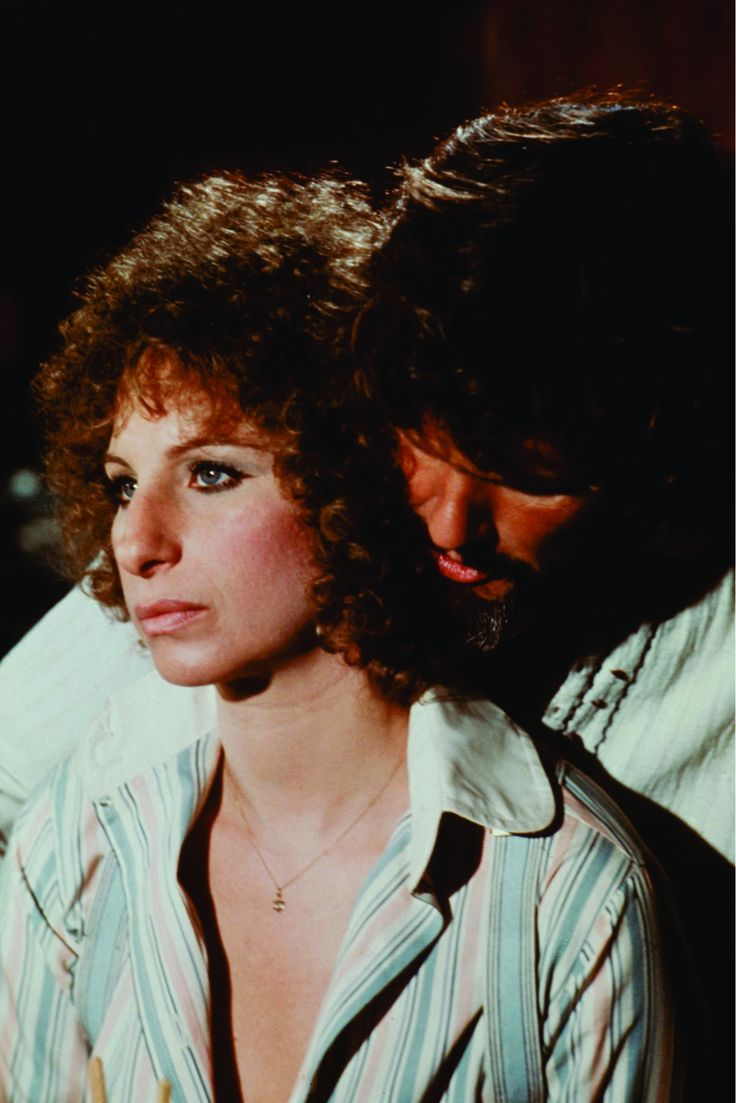 Barbra Streisand and Kris Kristofferson in A Star Is Born (1976) nice