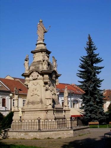 Slovakia, Prešov - Immaculata sculpture