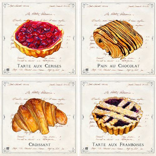 french pastries Ginny Joyner