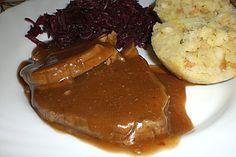 Schweinerollbraten im Bratschlauch, ein sehr schönes Rezept aus der Kategorie Schwein. Bewertungen: 29. Durchschnitt: Ø 4,2.