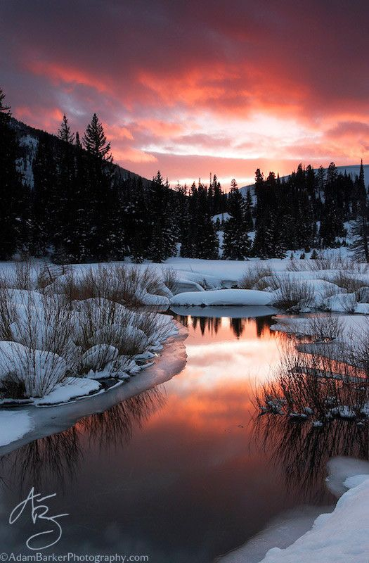 """Happy Hour"" Big cottonwood canyon, Utah, USA,by Adam Barker/AdamBarkerPhotography.com,on 500px."