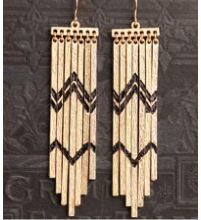 Tribal Beat EarringsAccessories Inspiration, Tribal Beats, Beats Earrings, Accessories Design, Earrings Addict, Tribal Beautiful, Fringes Earrings, Accessories Jewerelli, Fashion Earrings Jewelry