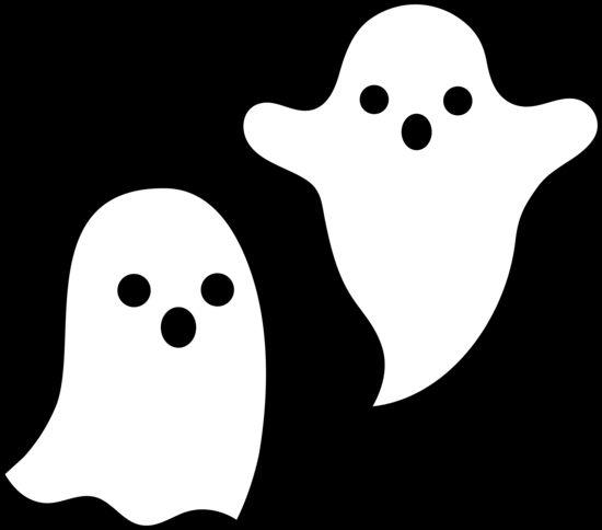Cute Ghosts Halloween Design