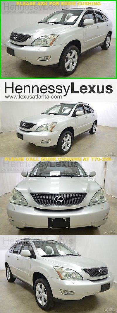 SUVs: 2004 Lexus Rx Base Sport Utility 4-Door 2004 Rx330 3.3L V6 Automatic Awd Luxury Suv Navigation Bach Up Camera Bluetooth BUY IT NOW ONLY: $7995.0