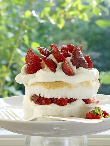 Recette Biscuit de Savoie aux fraises, notre recette Biscuit de Savoie aux fraises - aufeminin.com