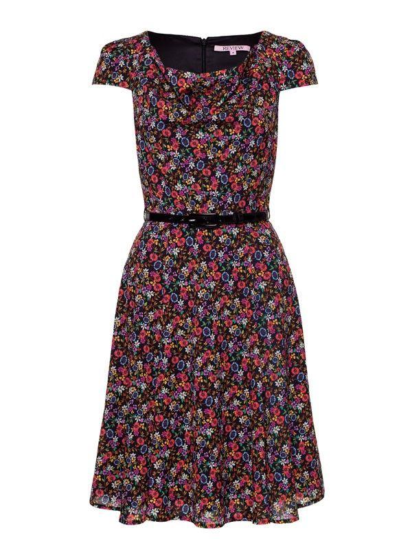 Review Australia   Daisy Chain Dress Multi