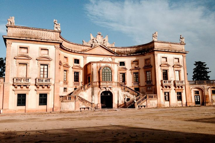 In Bagheria you might sleep in the beautiful Villa Valguarnera  (18th century)