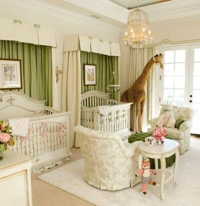 Although your new arrival may not be heir to the British throne, he—or she—is no less deserving of the royal treatment. Take inspiration for your own royal nursery from these grand designs.