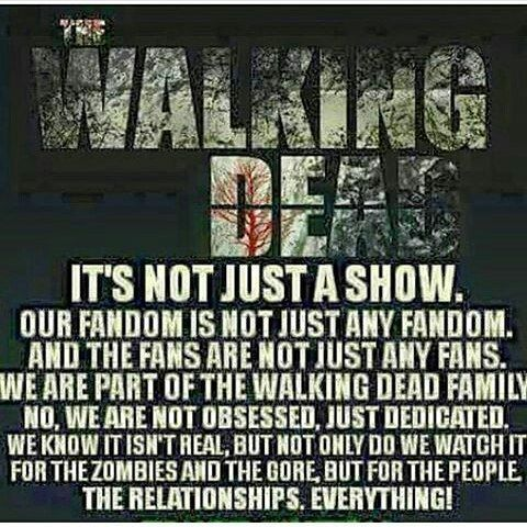 Finally!!! My expressed feelings...!!!♥ #thewalkingdeadfamily