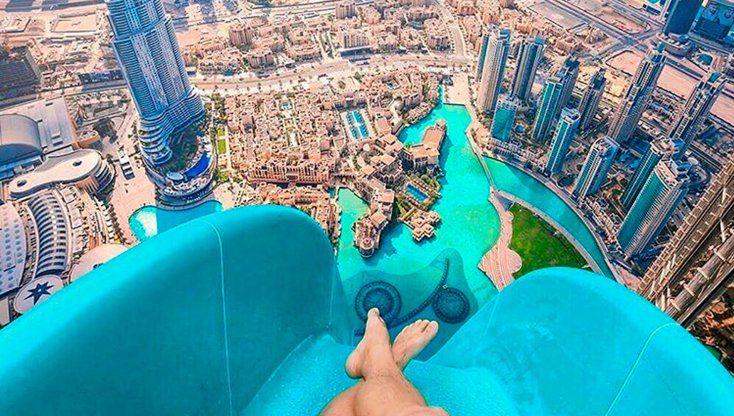 los toboganes de agua mas extremos del mundo
