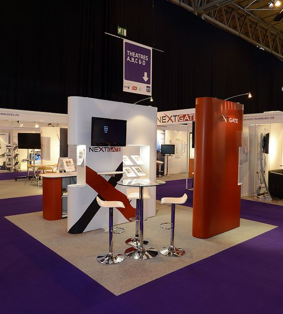Exhibition Stall Design Octanorm : Smart exhibition stand design for nextgate with a very