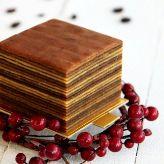 Indonesian-Dutch Spekkoek - layers cake
