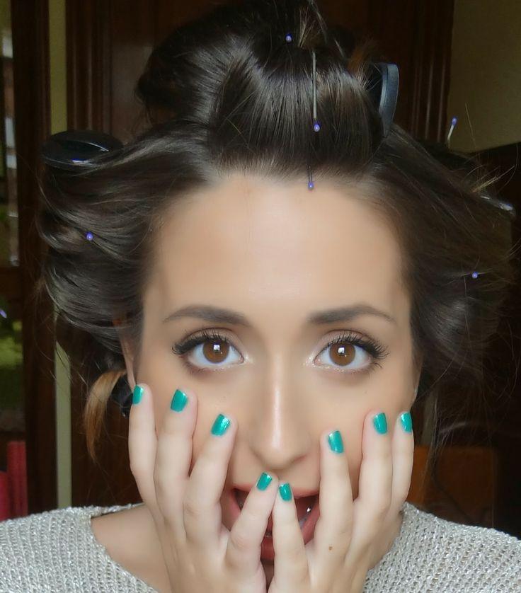 Irati's Vanity: Voluminous Hair Using Babyliss Hot Rollers
