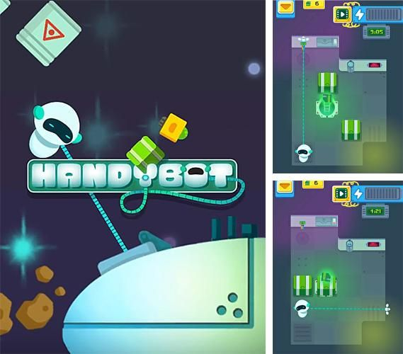 Handybot HD Hack is a new generation of web based game hack, with it's unlimited you will have premium game resources in no time, try it and get a change to become one of the best Handybot HD players.   Handybot HD – help a funny robot get through the lower levels of a …