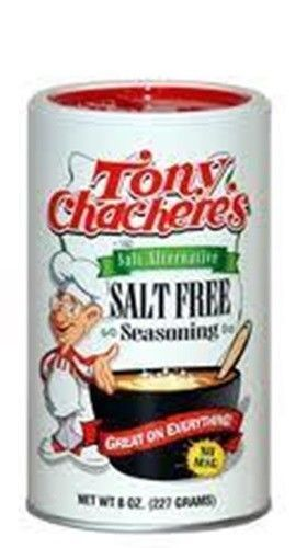 Tony Chachere'S Salt Free Creole Seasoning 8 Oz Free  Orleans Recipe Cajun