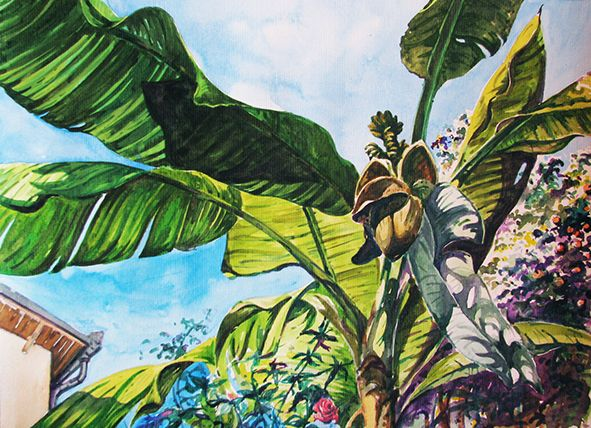 NICE, watercolor, 2012