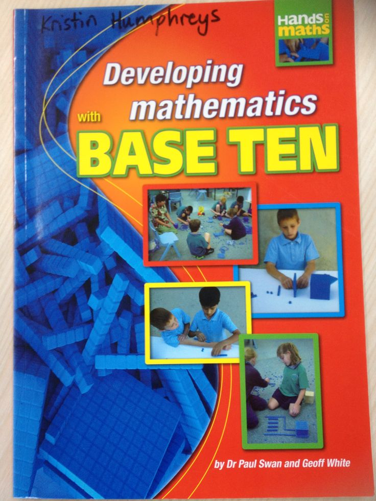 Everything you need to know about how to use Base Ten effectively. Available from www.drpaulswan.com.au