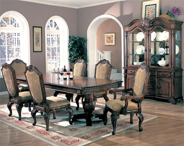 25+ best ideas about Traditional Dining Sets on Pinterest ...