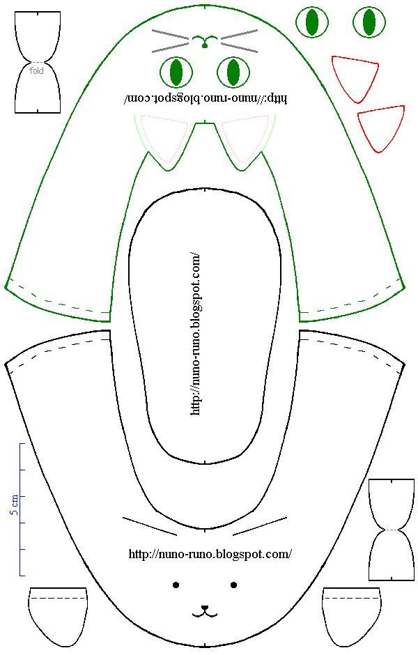 Pattern of baby shoe