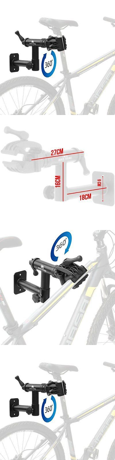 Workstands 177847: Bicycle Repair Stand Wall Mount Bike Rack Rotating Clamp Seatpost Top Tube Cycel -> BUY IT NOW ONLY: $72.27 on eBay!