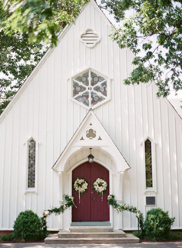 Little white chapel | Almond Leaf Studios