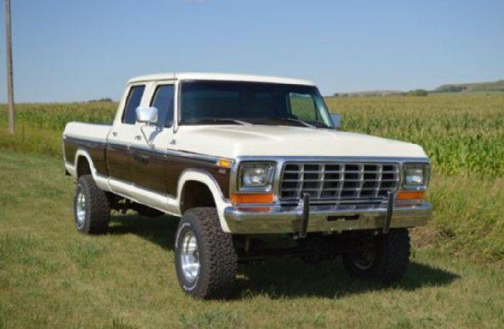 1978 F250 Crew Cab Trucks Ford Trucks For Sale Classic