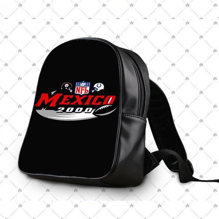 Nfl Mexico 2000 Black School Bag Backpacks
