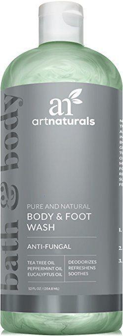 ArtNaturals Essential Bath and Body Wash - Tea Tree Peppermint & Eucalypt Health #ArtNaturals