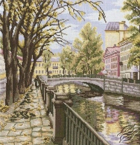 Channels Of St. Petersburg - Cross Stitch Kits by RTO - M423