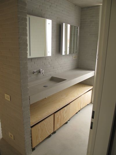 shallow sink, single slab  http://pinterest.com/pin/162903711491380010/#
