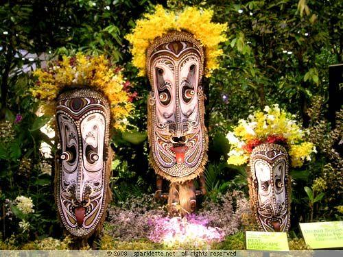 Papua New Guinea Masks
