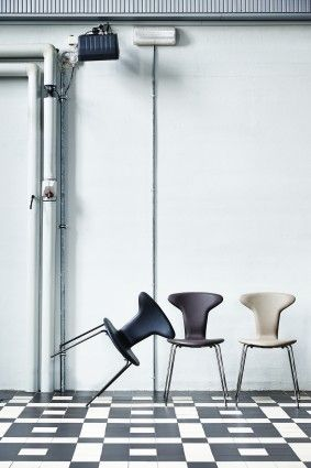 The Munkegaard Chair designed by Arne Jacobsen for HOWE