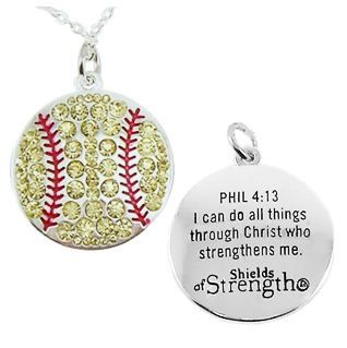 Perfect. Love the game and one of my fav verses!! Great combo. But I don't like softball only volleyball. That would be great