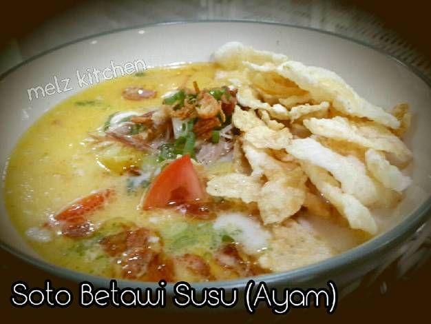 Soto Betawi Susu (Ayam)